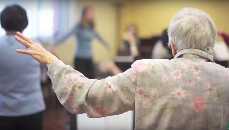 Zangtherapie tegen Parkinson. Beeld Universiteit van Alberta