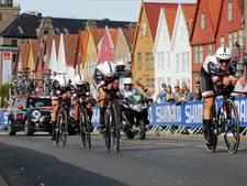 Vrouwen Sunweb troeven Boels-Dolmans af in ploegentijdrit