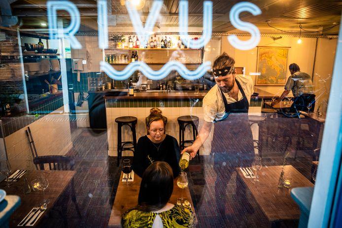 Restaurant Rivus is nieuw in de binnenstad van Arnhem.