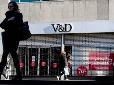 'Warenhuizen V&D blijven nog weken dicht'