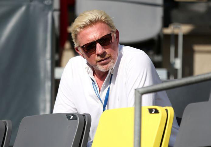 Becker vorig jaar bij de Hamburg Open.