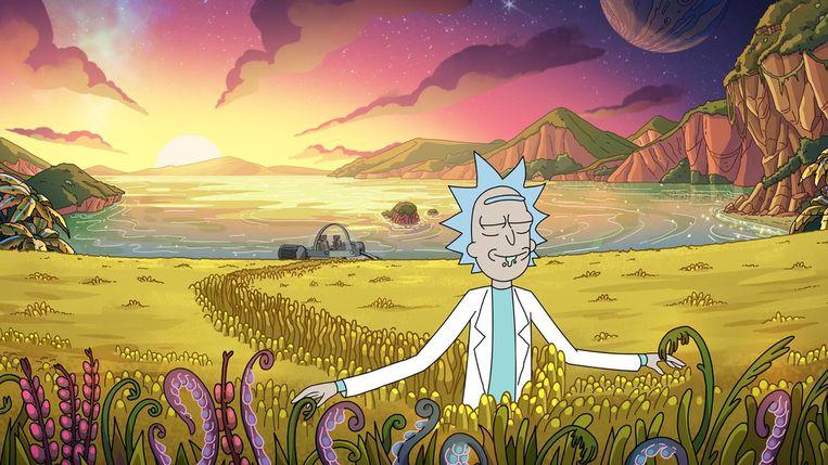 Rick & Morty een van de animatieseries op Netflix. Beeld