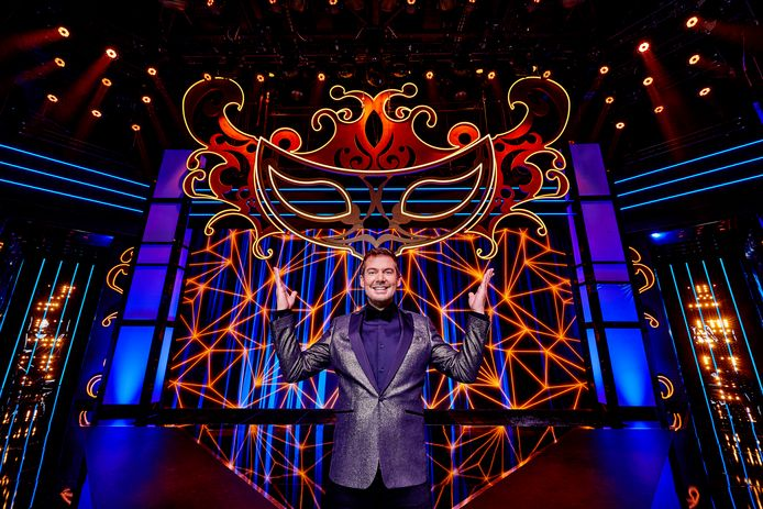 2020 RTL tv programma The Masked Singer Portret van presentator Ruben Nicolai
