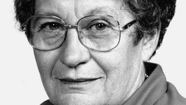 Nell Ginjaar-Maas in 1989. Beeld ANP