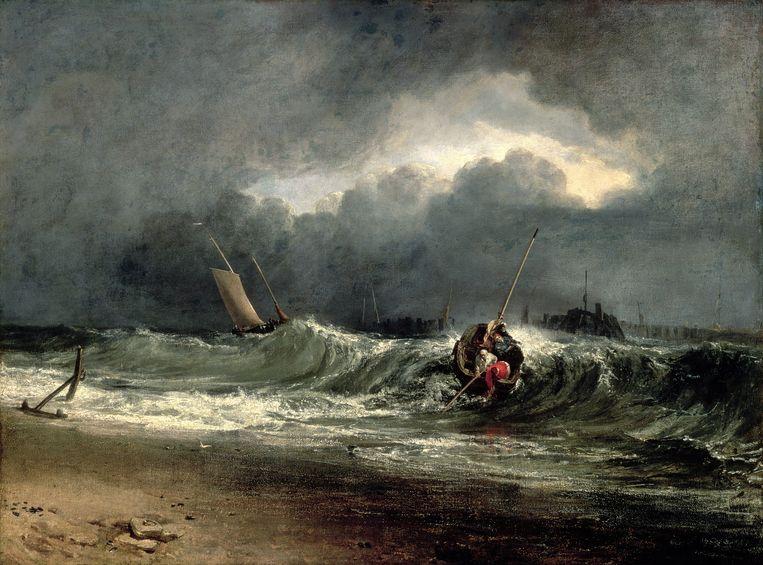 Schilderij van J.M.W. Turner. Beeld Southampton City Art Gallery