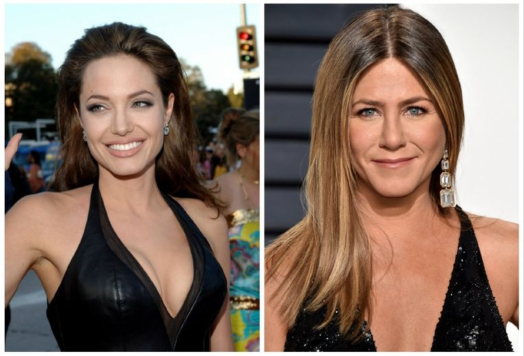 Angelina Jolie en Jennifer Aniston
