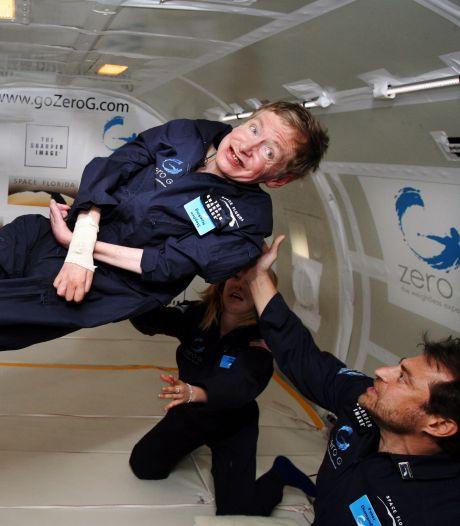 'Ik was nog veel meer onder indruk van Stephen Hawking als mens'