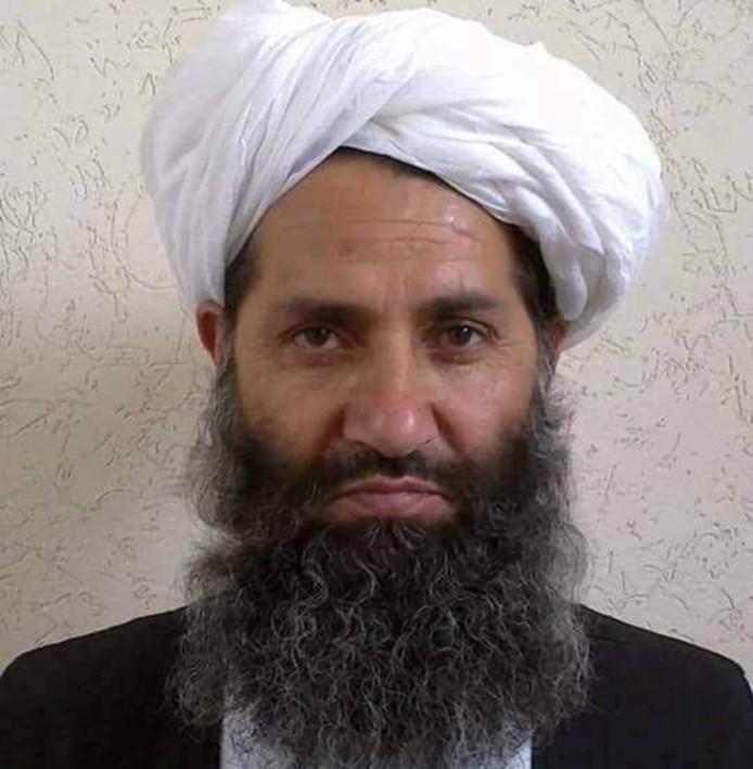 Talibanleider Mullah Haibatullah Akhundzada.