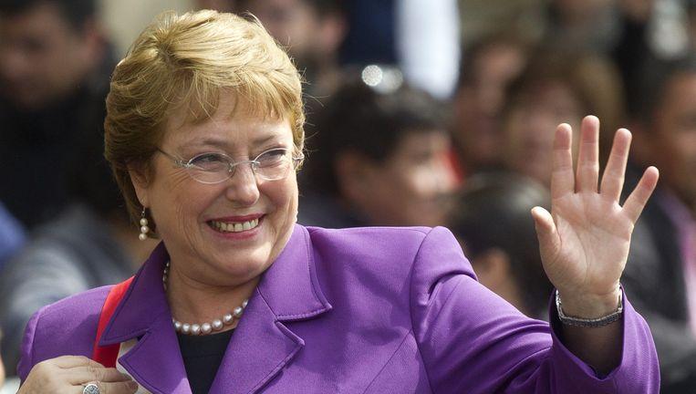 Bachelet maakt kans. Beeld afp
