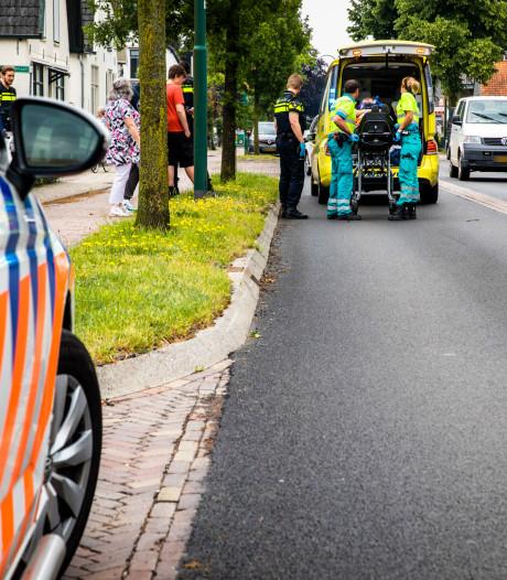 Fietser zwaargewond na botsing met ander fietser in Leersum