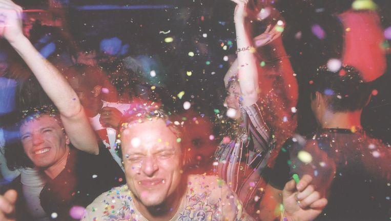 Archiefbeeld van Speedfreax, een van de feesten waar het morgen tijdens de Red Bull Studios Playrooms om draait. Beeld Archief Speedfreax
