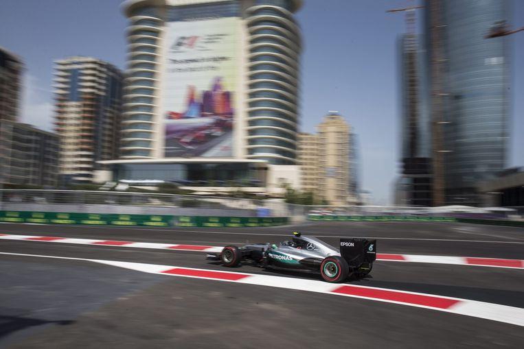 Nico Rosberg van Mercedes. Beeld epa