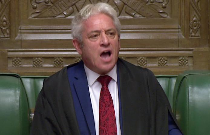 John Bercow, voorzitter van het Lagerhuis.