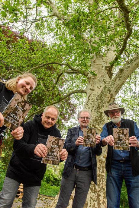 Wereldboom in 't Wasven in Eindhoven: Hart van hout voor Gevlekte Zuiderling