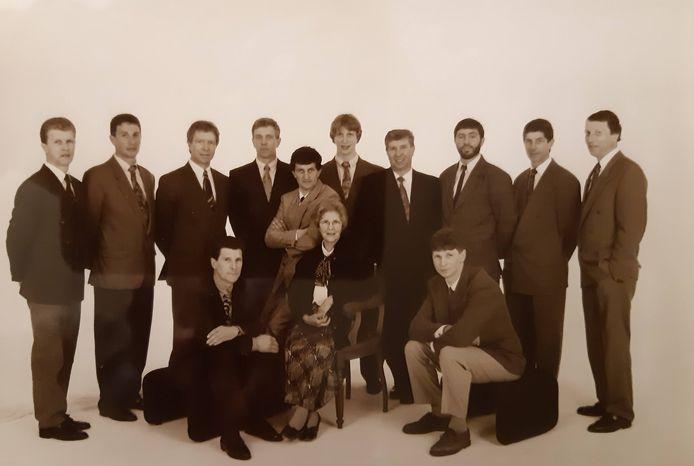 De familie Kelchtermans.