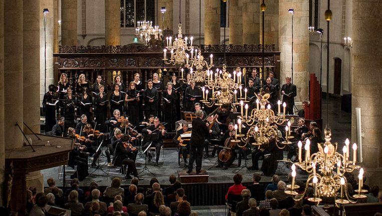 Een traditie voorafgaand aan Pasen: de Matthäus-Passion in de Grote Kerk van Naarden Beeld Wouter Jansen