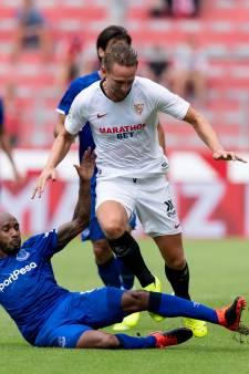 Luuk de Jong in de basis bij Sevilla bij seizoenstart tegen Espanyol