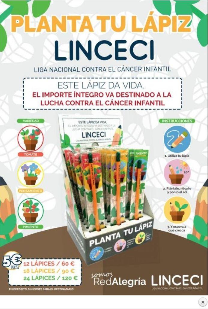 Linceci verkocht onder meer deze stiften.