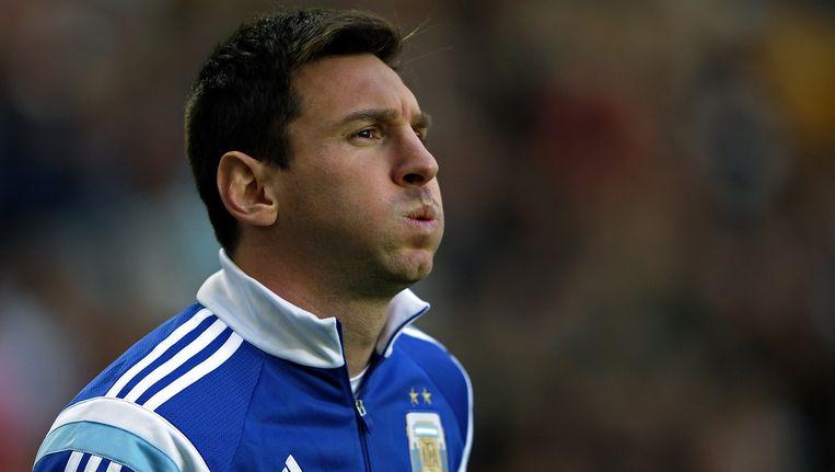 Lionel Messi. Beeld null
