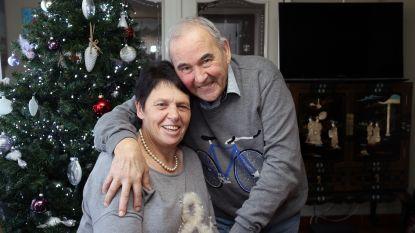 Ex-profwielrenner Suske Verhagen (70) en zijn Liliane blazen vijftig huwelijkskaarsjes uit