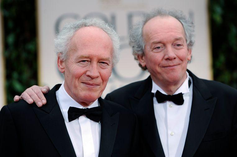 Jean-Pierre (links) en Luc Dardenne, hier op de uitreiking van de Golden Globes 2012.