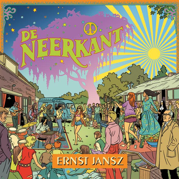 Cover van het nieuwe album 'De Neerkant' van Ernst Jansz.