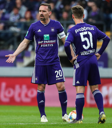 Anderlecht grijpt naast ticket voor Europees voetbal