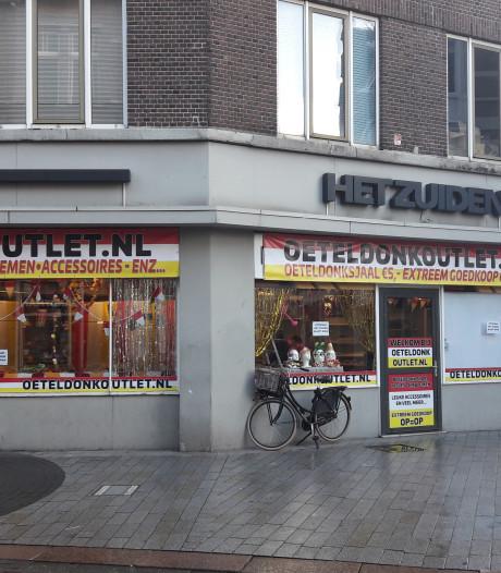 Ook pop-upzaak mag officiële Oeteldonk-emblemen verkopen