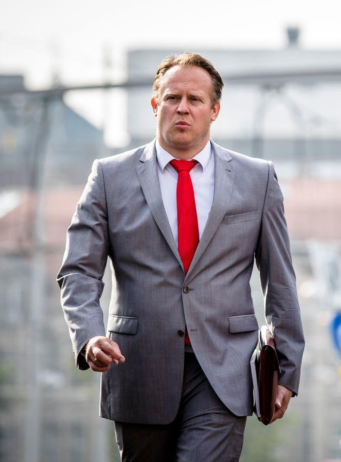 Pieter Heerma voorzitter van de CDA-fractie in de Tweede Kamer. ARCHIEFFOTO ANP BART MAAT