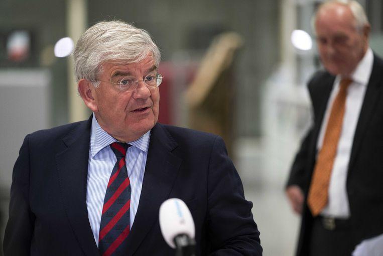 Burgemeester Jan van Zanen van Utrecht is vanavond voorgedragen aan de gemeenteraad van Den Haag om de nieuwe burgemeester van de Hofstad te worden.  Beeld ANP