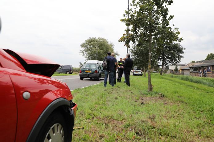 Vrouw raakt gewond bij botsing in Kaatsheuvel.