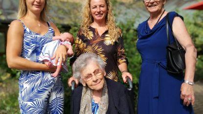 Met pasgeboren Niene zet familie Sinnaeve-Pauwels-Devos traditie van vijfgeslachten voort