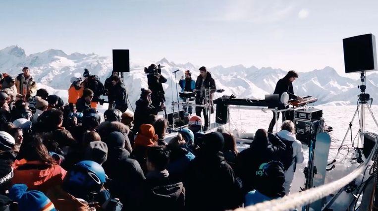 Curtis Alto op 3000 meter hoogte.