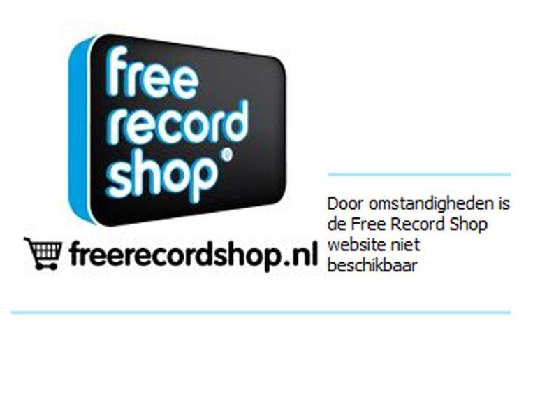 Screen Free Record Shop Beeld screenshot