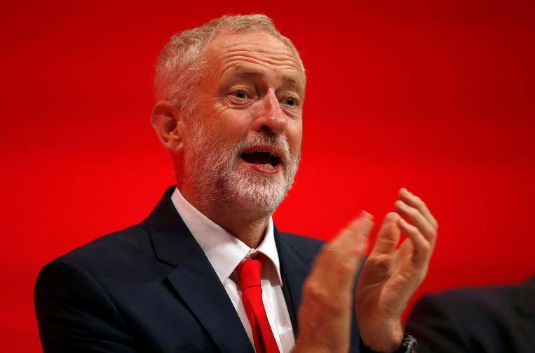 Jeremy Corbyn. Beeld reuters