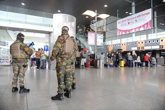 Liège Airport, de luchthaven van Luik.
