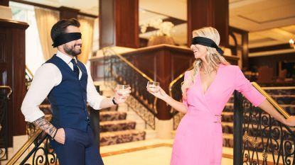 """MR-voorzitter Georges-Louis Bouchez en Miss België Celine Van Ouytsel gingen op blind date: """"We zijn allebei controlefreaks"""""""