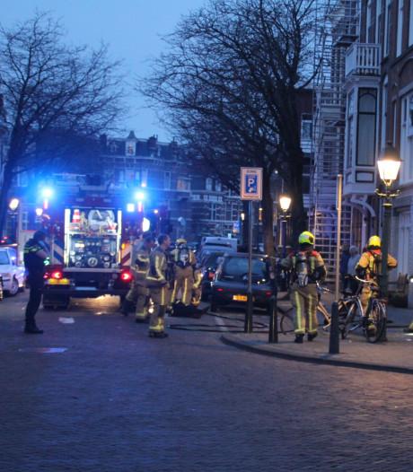 Gewonde bij woningbrand  2e Sweelinckstraat