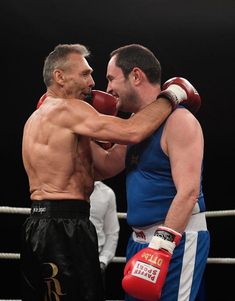 Freddy De Kerpel en Vincent Van Quickenborne stonden tegenover elkaar in de ring.