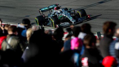 Bottas is snelste in ochtendsessie van derde testdag in Barcelona