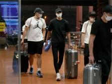 Japan stuurt basketballers na wilde nacht naar huis