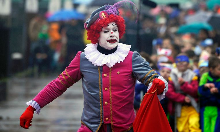 Een clownspiet  Beeld ANP