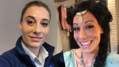 Met Ianthe Tavernier naar de set van De Buurtpolitie en de première van Aladdin
