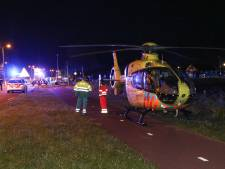 Scooterrijder ernstig gewond bij val op Urk