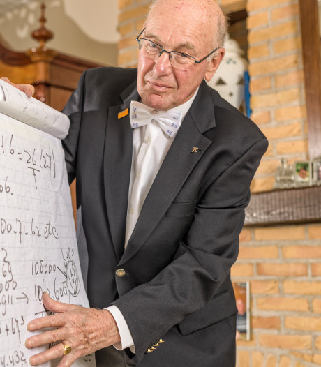 Rekenwonder Willem (80) wil wereldrecord hoofdrekenen: 'Geef mij een vijfcijferig getal, dan reken ik het uit'