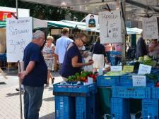 Vanaf 3 juli elke woensdag weekmarkt in centrum Waalwijk