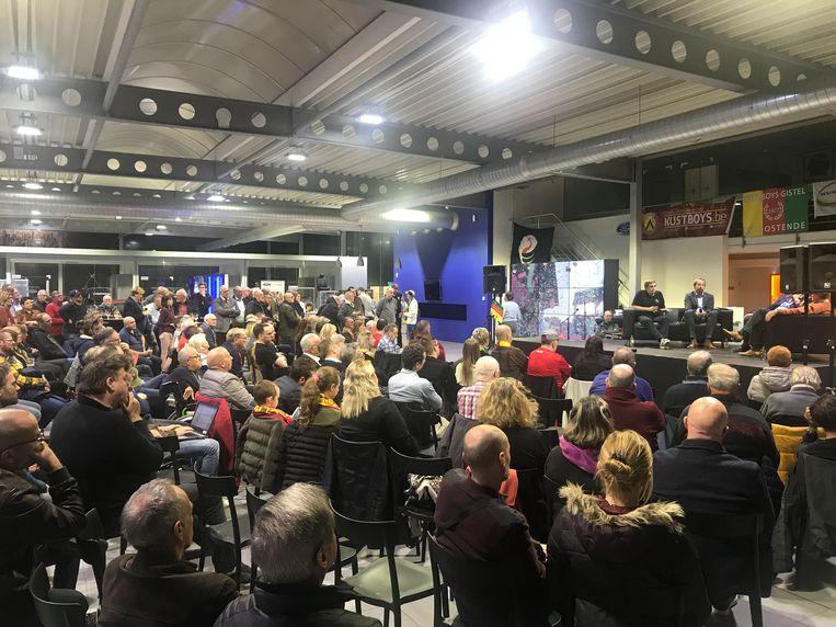 Tijdens een supportersavond ging voorzitter Frank Dierckens dieper in op de toekomst van KVO.