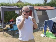 Gerard Cobussen is hard op weg naar een camping zonder comazuipers