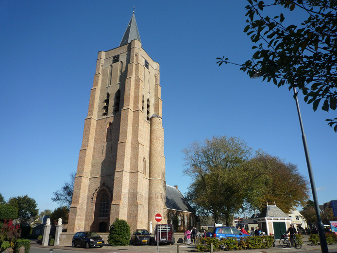 De Dorpskerk van Oostkapelle.