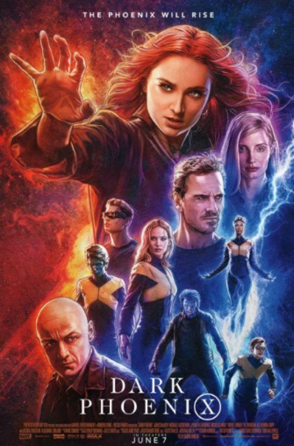 Dark Phoenix poster.